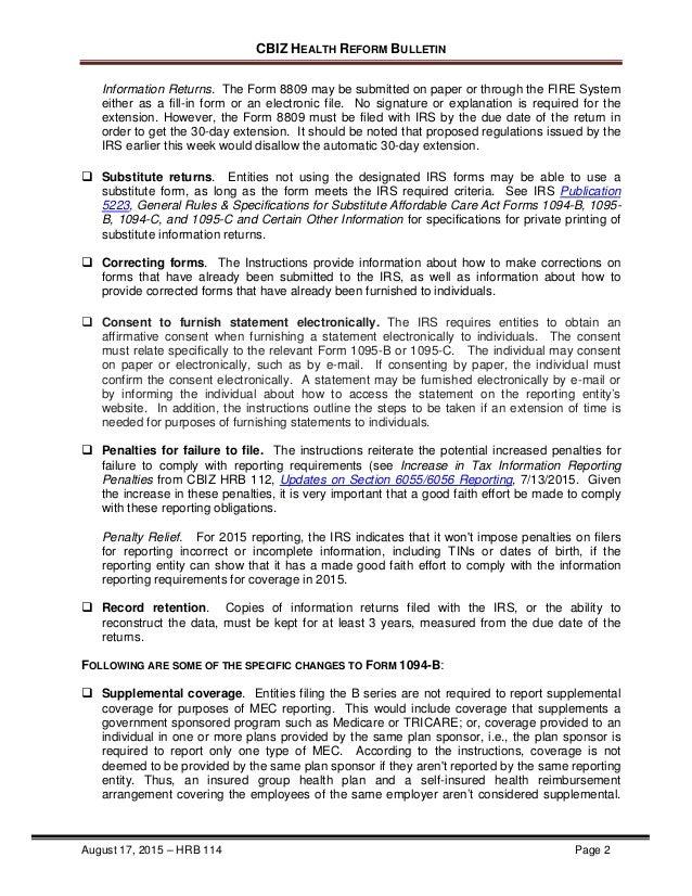 Form 8809 Instructions Solidaphikworks