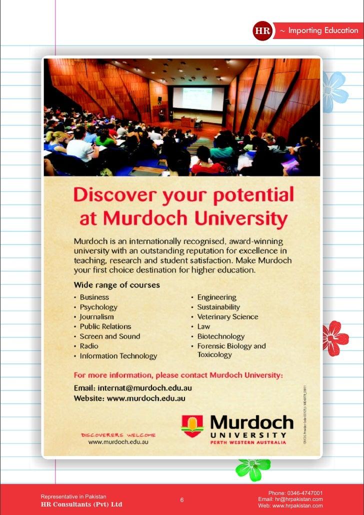 murdoch university handbook 2012