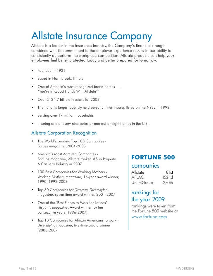 letter of experience allstate  AWD Overview