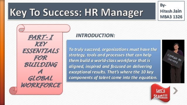 """Do you agree with the statement that """"Every manager is an HR manager""""?"""