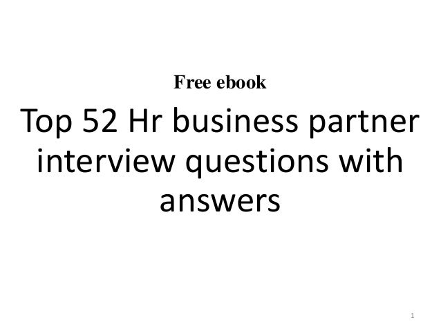 52 hr business partner interview questions and answers pdf free ebook top 52 hr business partner interview questions with answers 1 yelopaper Choice Image
