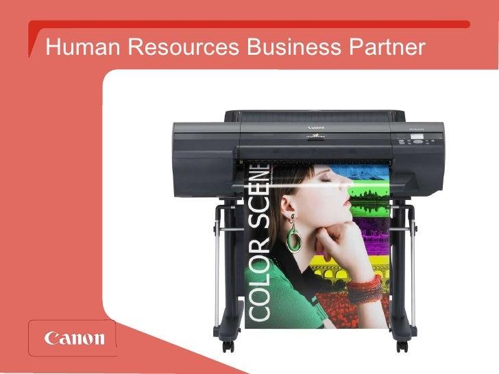 Human Resources Business Partner