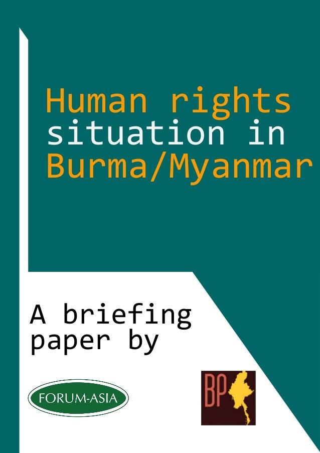 reaction paper of human rights A brief history of the modern human rights discourse in china human with the release of the white paper, human rights there is a strong reaction.