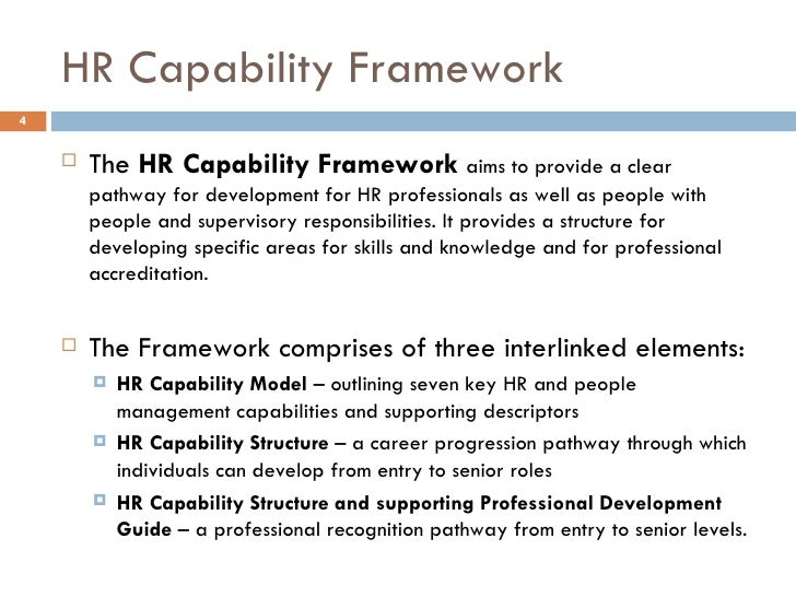 HR - Capability Management Revisited