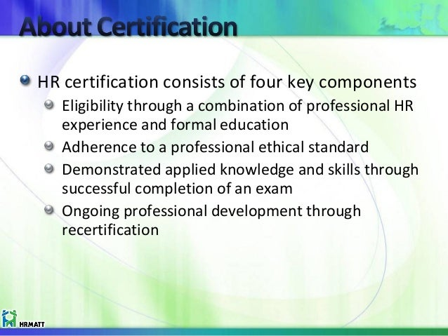 HR Certication for the Caribbean HR Practitioner - HRMATT