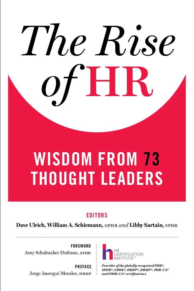 The Rise of HR