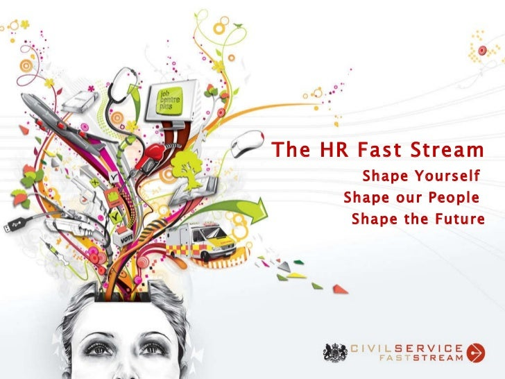 The HR Fast Stream Shape Yourself  Shape our People  Shape the Future