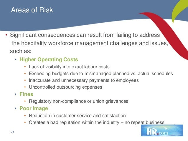 hospitality industry and hr management Effective hr management is essential to recruiting and developing quality employees and a motivated workforce businesses in the hospitality industry succeed or fail on the satisfaction of their customers the hospitality industry comprises three major segments: accommodations, food and.