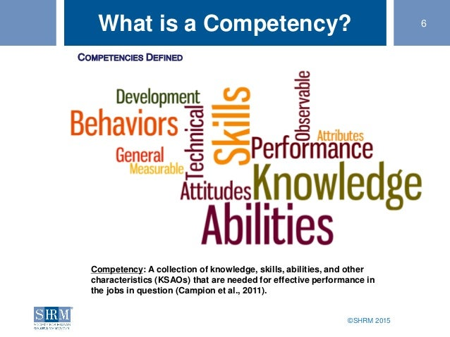 Hr Competency Model A Road Map For Success