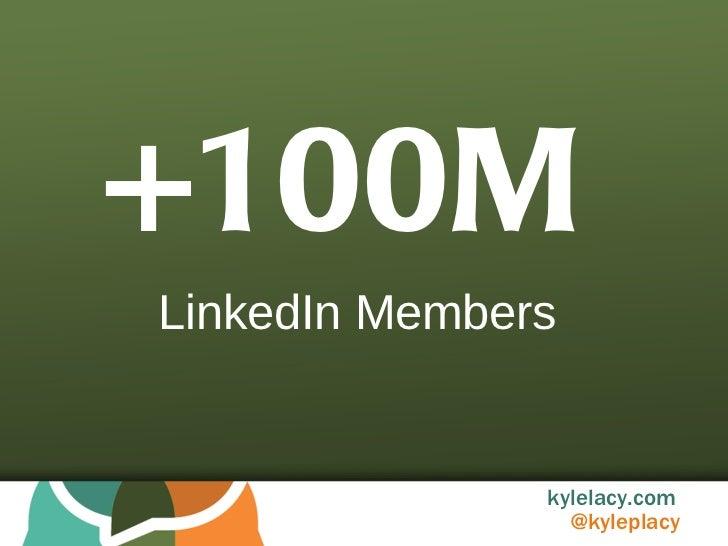 +100M LinkedIn Members