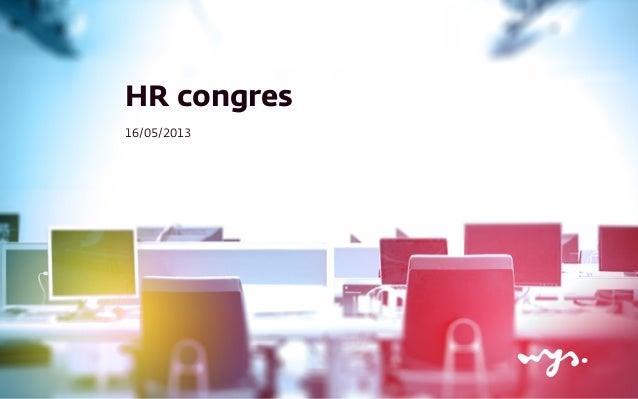 HR congres16/05/2013