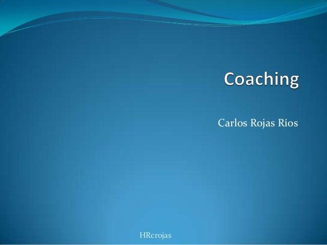 Carlos Rojas Ríos HRcrojas