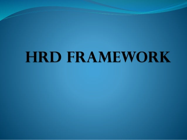 strategic framework for hrm