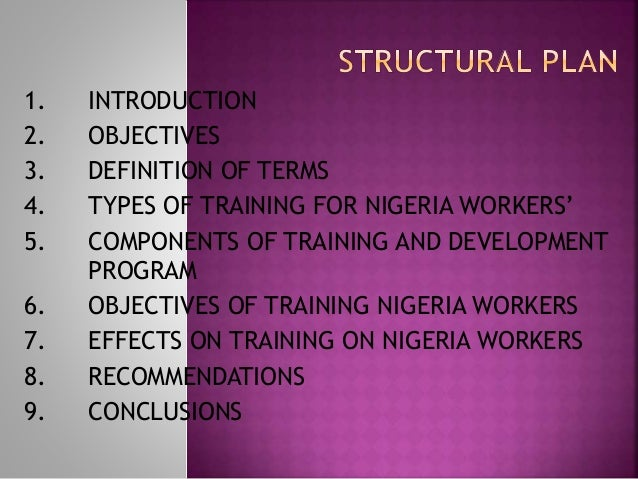 importance of training in an organisation It clearly implies that the role of training is to improve the overall  understanding  the organisation's aims and needs and how the aims are met by range.