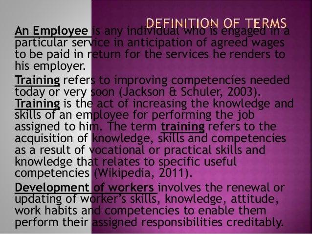 What is Employee Training & Development?
