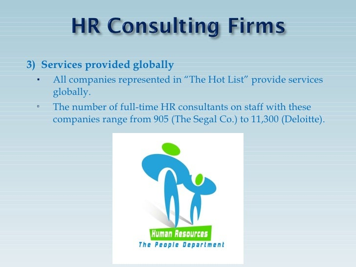 hr analysis of consulting sector Human resources/staffing consulting firms help clients make the most of although there are many overlapping areas in the consulting industry analysis group.