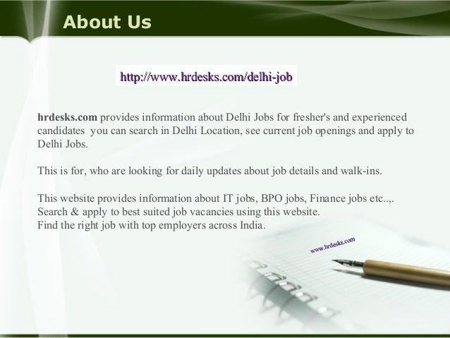 'hr' Jobs In Delhi - Search and Apply for 'hr' Jobs in Delhi on chaplin-favor.tk Explore Latest 'hr' Jobs in Delhi for Fresher's & Experienced on chaplin-favor.tk