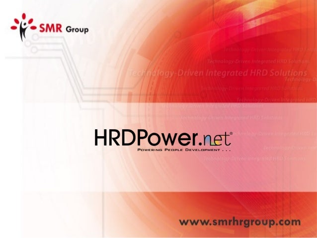 Integrated HRD Solutions Recruitment Competency Management Performance Managemen t Learning & Development