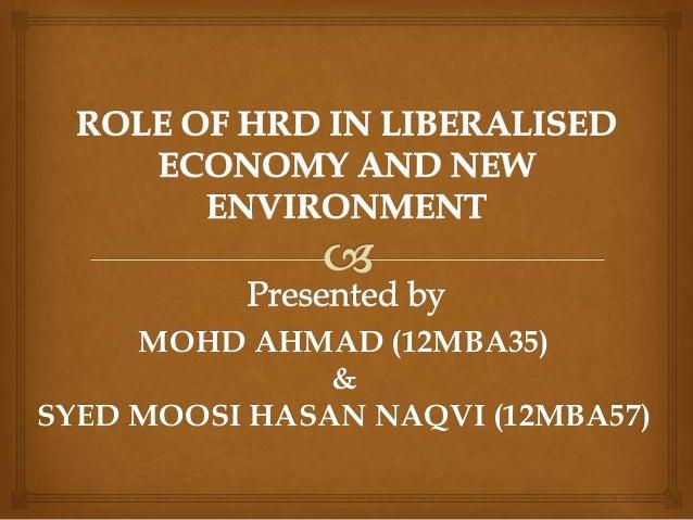 MOHD AHMAD (12MBA35) & SYED MOOSI HASAN NAQVI (12MBA57)