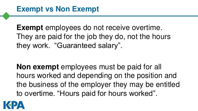 How to Classify Your Exempt and Non Exempt Employees Correctly June 1…