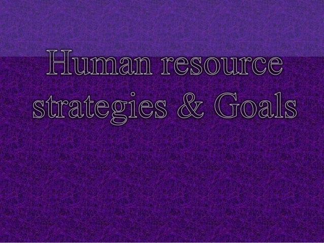 Human Resource Development• Human Resource Development (HRD) is the framework for  helping employees develop their persona...