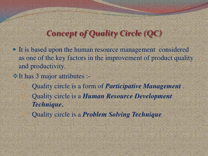 Quality Circles (QCs): Definition, Objectives and Other Details