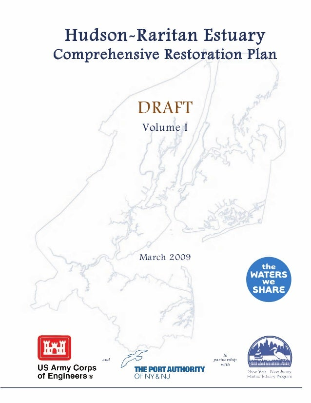 Hudson-Raritan Estuary Comprehensive Restoration Plan 2009