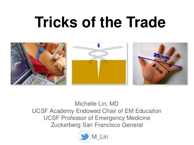 Tricks of the Trade: High Risk Emergency Medicine 2017