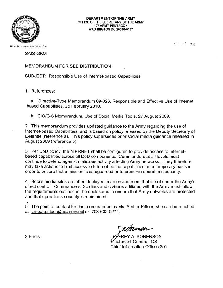 Army Memo Policy Memo Cote DIvoire Sample Policy Memo Formal