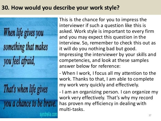52 HR executive interview questions and answers pdf