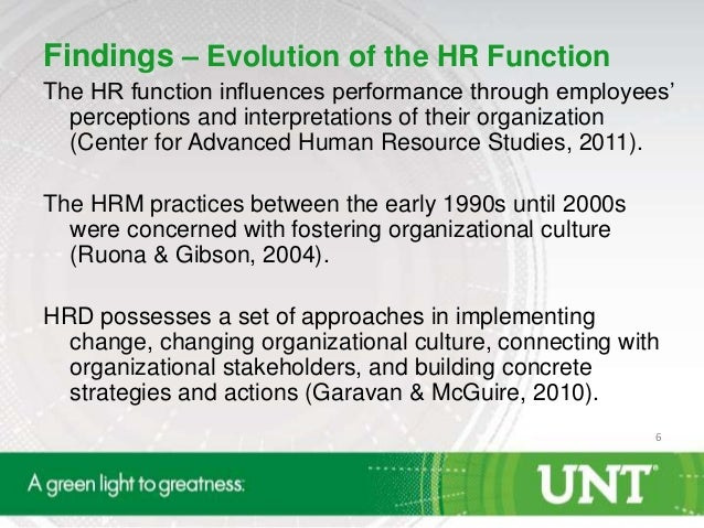 hr evolving role in organisation This article describes the role of the hr function as a key part of the process of  managing organizations it dwells on the role of the function to provide advice,.