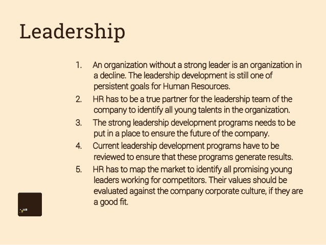hr goals and objectives 2014