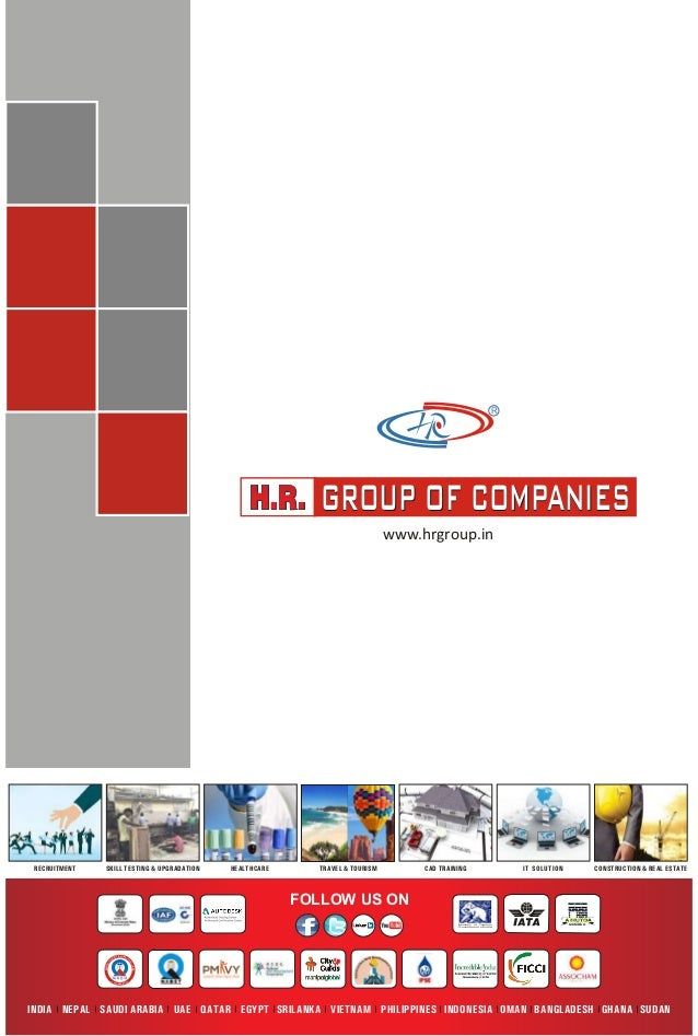R GROUP OF COMPANIESGROUP OF COMPANIES FOLLOW US ON MEMBERMinistry of Tourism Government of India CONSTRUCTION & REAL ESTA...
