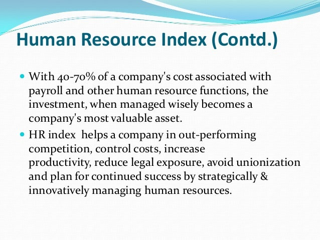 human resource is the most important asset of an organization 2 essay The most downloaded articles from human resource management review in the last 90 days  current knowledge and important areas for future research september 2008.