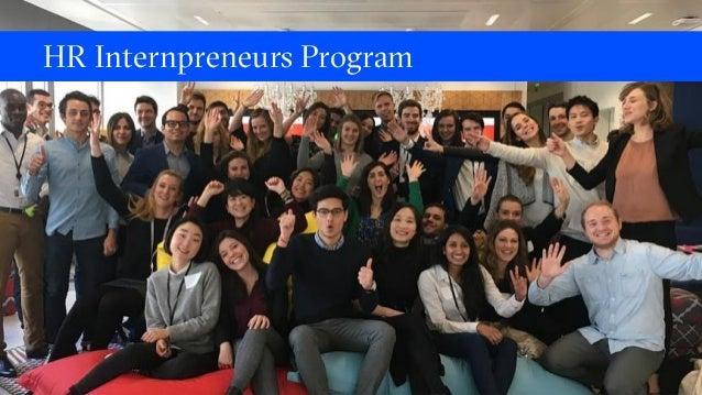 HR Internpreneurs Program