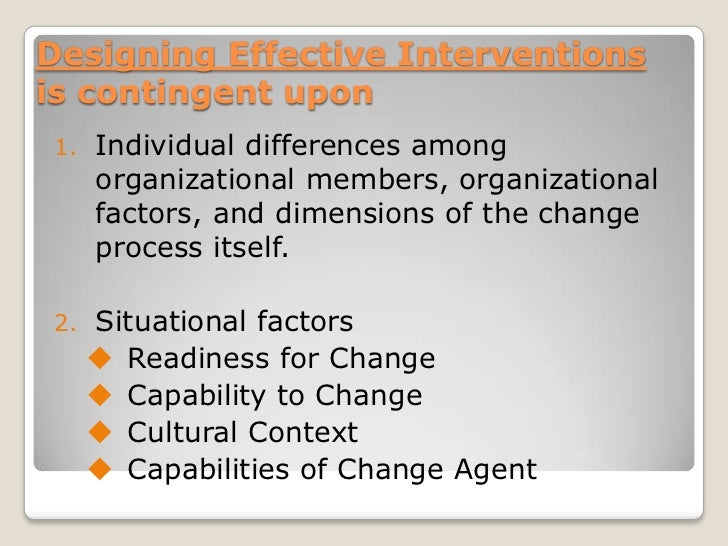 HR Intervention and Consultation