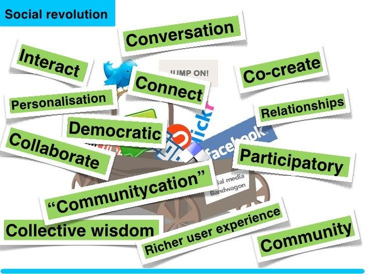 Social revolution                         vers ation                     Con   Inter         act                          ...