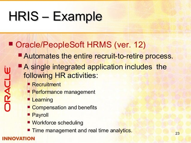 Human Resource Information System Hris