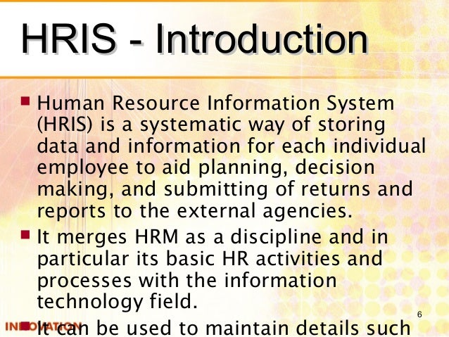 How the data in human resource