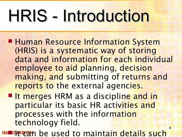 hris introductionhris - Lawson Hris System