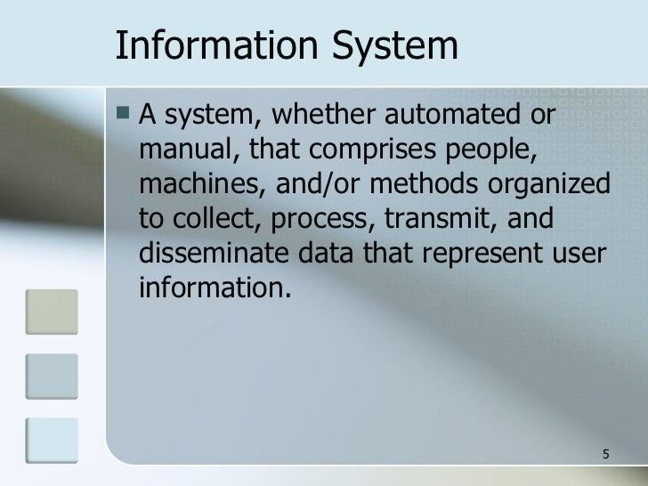 5 information system