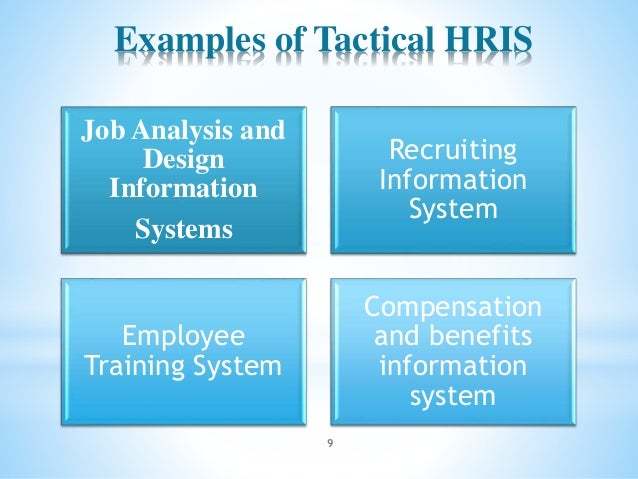 introduction training hris Moving from introduction towards integration of new employees training are crucial elements for the successful fulfilment of the mission of the offices and that.