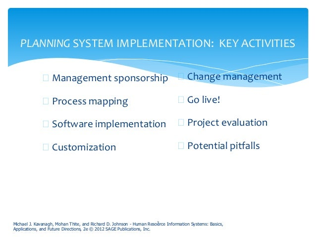 Hris Implementation And Change Management