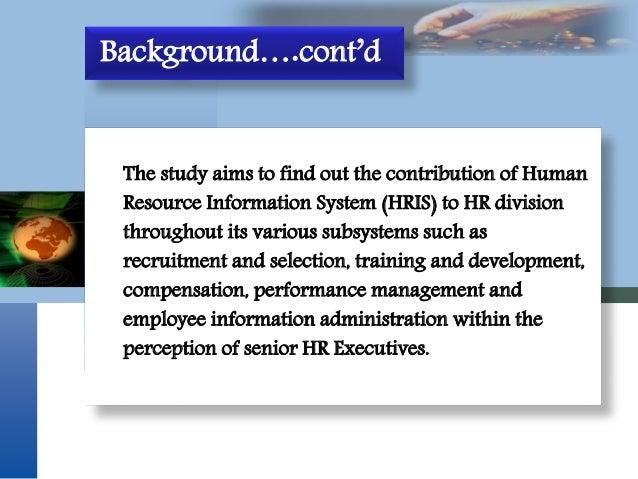 information system case study