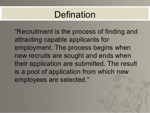 Constraints & Challenges    The most suitable ones may not have been    motivated to apply due to several constraints:-   ...