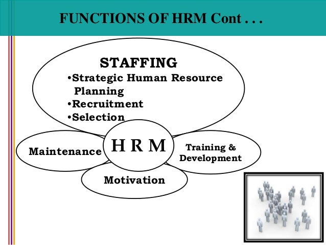 Staffing as a Management Function