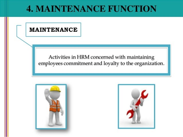 human resource maintenance Hr management assignment help, maintenance functions of human resource development, q maintenance functions of human resource development these functions relate to the maintenance of the employees and their satisfaction levels by removing grievances, difficulties, and problems, both at professional and personal front.