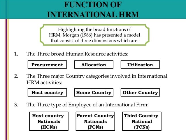 Different kinds of approaches to hrm jobs