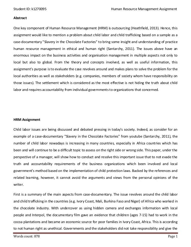solved case study on ihrm