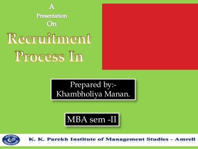Prepared by:- Khambholiya Manan. MBA sem -II